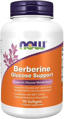 Now Berberine Glucose Support bottle