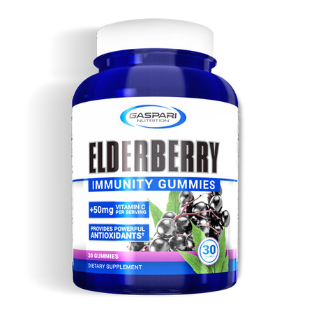Gaspari Nutrition Elderberry Immunity Gummies Bottle
