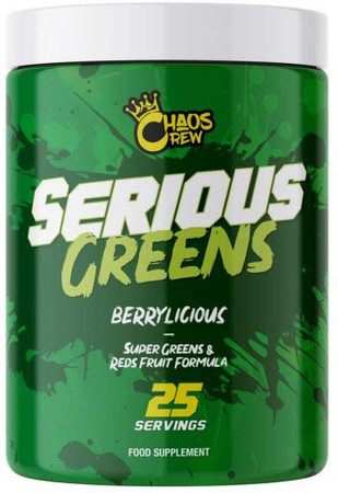 Chaos Crew Serious Greens Bottle
