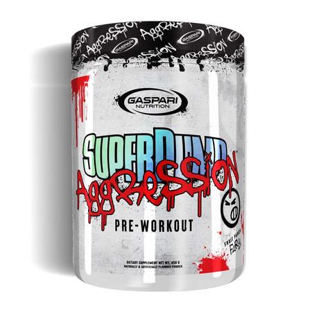 Gaspari Nutrition Superpump Aggression Bottle