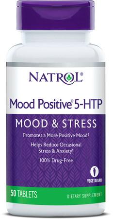 Natrol Mood Positive 5-HTP Mood & Stress Bottle