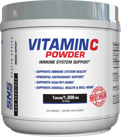 SNS Vitamin C Powder Bottle