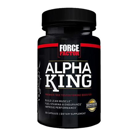Force Factor Alpha King Bottle