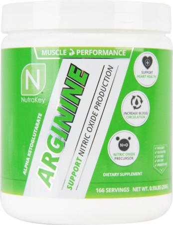 NutraKey Arginine Powder Bottle