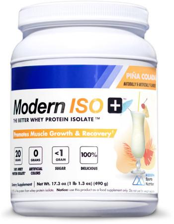 Modern Sports Nutrition Modern ISO+ Bottle