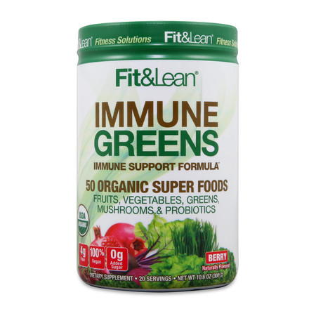 MHP Fit & Lean Immune Greens Bottle