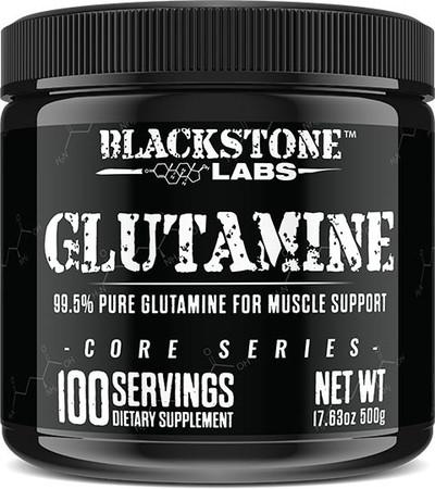 Blackstone Labs Glutamine Bottle