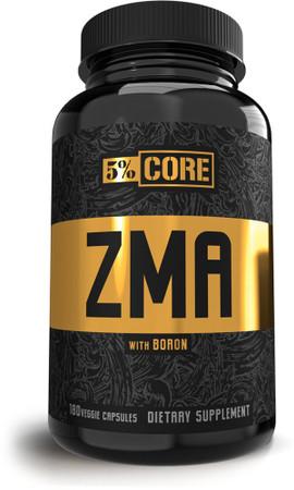 5% Nutrition 5% Core ZMA bottle