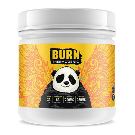Panda Supplements Burn Thermo Bottle