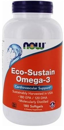 Now Eco-Sustain Omega-3 Bottle
