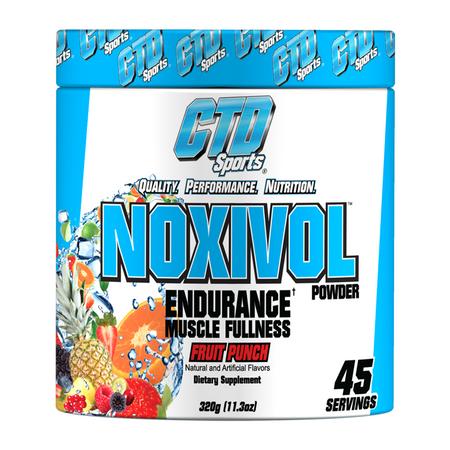 CTD Sports NOXIVOL Powder bottle flavors