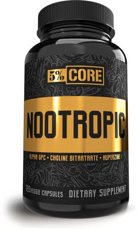 5% Nutrition 5% Core Nootropic bottle