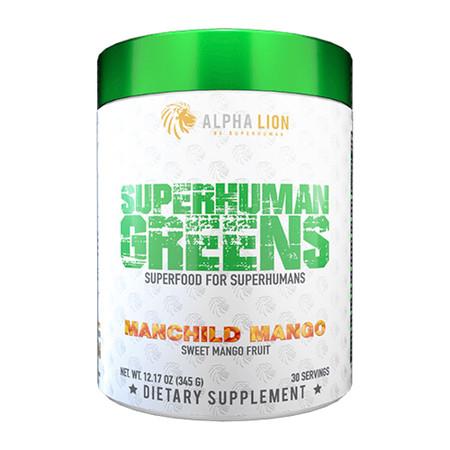 Alpha Lion SuperHuman Greens Bottle