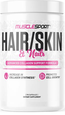 MUSCLESPORT Hair, Skin, & Nails Bottle