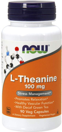 Now L-Theanine 100mg bottle