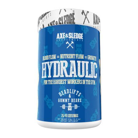 Axe & Sledge Hydraulic Pre-Workout Pump Bottle