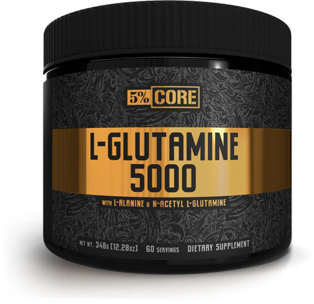 5% Nutrition 5% Core L-Glutamine 5000 bottle