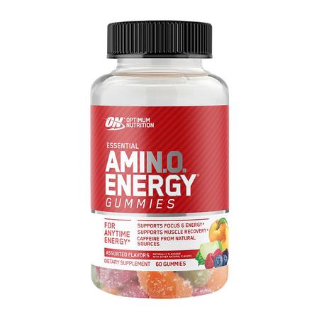 Optimum Nutrition Essential Amin.o. Energy Gummies Bottle