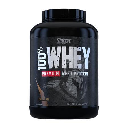 Nutrex Research 100% Premium Whey Protein Bottle