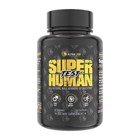 Alpha Lion Superhuman Test Bottle