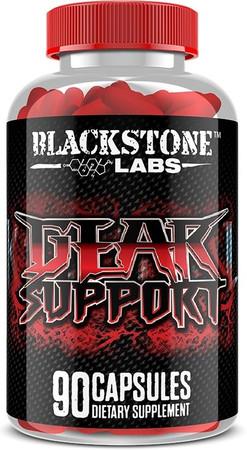 Blackstone Labs Gear Support bottle label