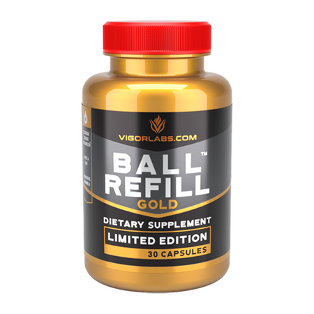 Vigor Labs Ball Refill Gold Limited Edition