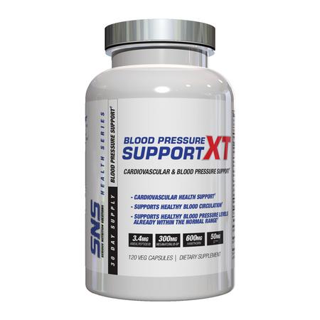 SNS Blood Pressure Support XT Bottle