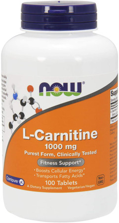 Now L-Carnitine 1000 mg bottle