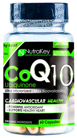 NutraKey CoQ10 Ubiquinone Bottle