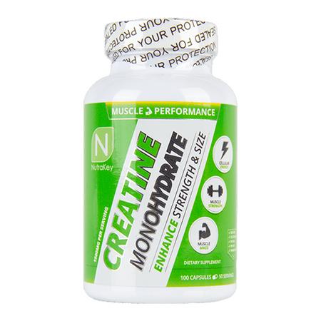 NutraKey Creatine Monohydrate 1500mg Bottle