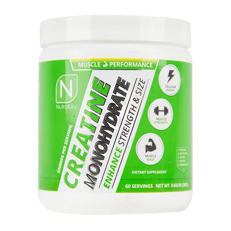 NutraKey Creatine Monohydrate Bottle