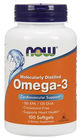 Now Omega-3 1000mg Bottle