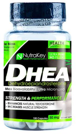 NutraKey DHEA 50mg Bottle