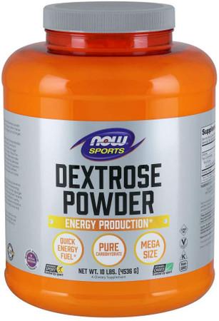 Now Dextrose Powder bottle