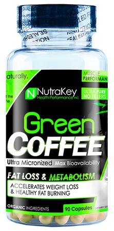 NutraKey Green Coffee Bottle