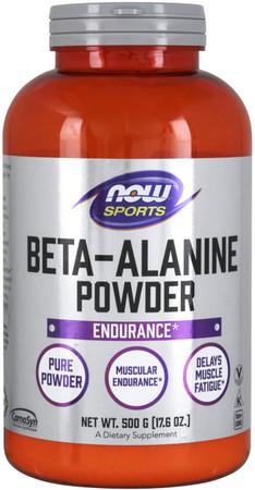 Now Beta-Alanine bottle