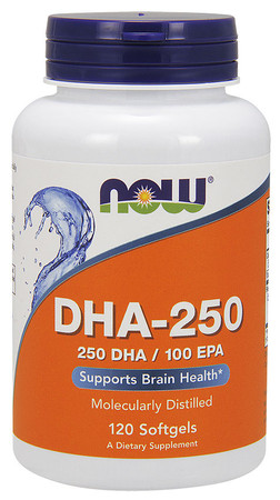 Now DHA-250 Bottle