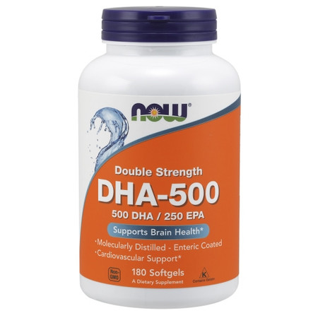 Now DHA-500 Bottle