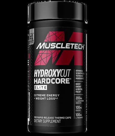 MuscleTech HydroxyCut Hardcore Elite Bottle
