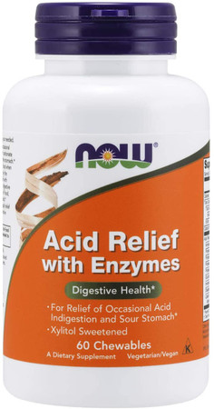 Now Acid Relief with Enzymes bottle