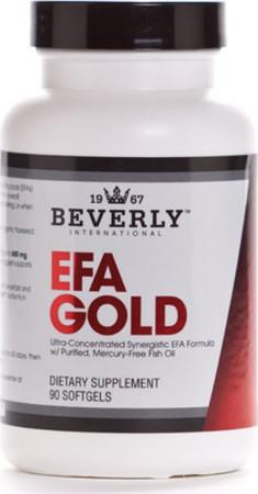 Beverly International EFA Gold Bottle