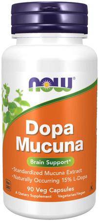 Now DOPA Mucuna bottle