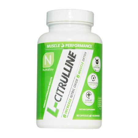 NutraKey L-Citrulline Bottle