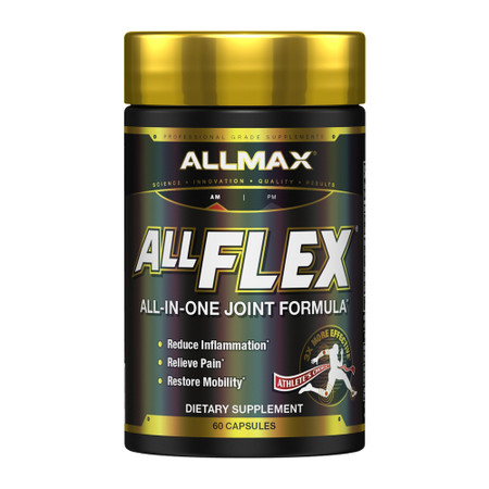 ALLMAX Nutrition All Flex Collagen - Based Joint Relief Bottle
