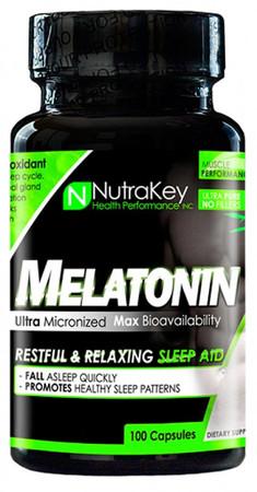 NutraKey Melatonin Bottle