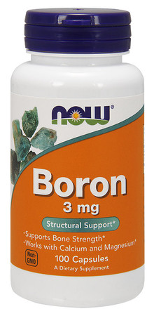 Now Boron 3 mg Bottle