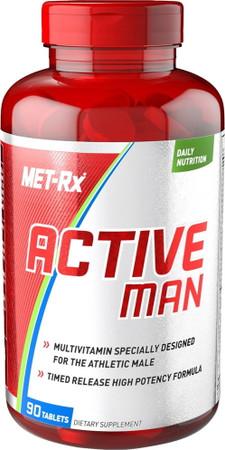 MET-RX Active Man Bottle