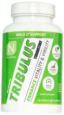 NutraKey Tribulus Bottle