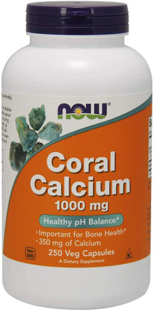 Now Coral Calcium 1000mg bottle