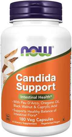 Now Candida Support bottle